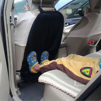 Black Car Seat Protector Cover for Child Baby Kick Mat Protect Universal Unisex