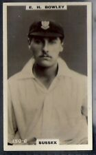 PHILLIPS-CRICKET ERS BROWN BACK F192-#150c- SUSSEX - BOWLEY