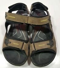 ECCO Receptor Women's Hiking Sports Sandals Size EU 41 US 10-10.5  Black Brown