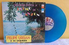 FELIPE URBAN EXITOS A RITMO DE DANZON MEXICAN LP  BLUE VINYL DANZON