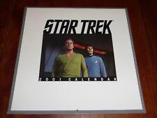 Star Trek Calendar 2001