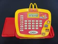 2004 McDonalds Play Cash Register Talking Restaurant Cash Register Tested WORKS!
