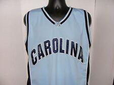 North Carolina Tar Heels NCAA Basketball Blue Colosseum Jersey Sewn SZ XL  VGC