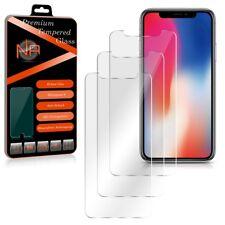 Apple iPhone X 10 Schutzglas 3x Glasfolie Panzerfolie Panzerschutzfolie Glas 9H