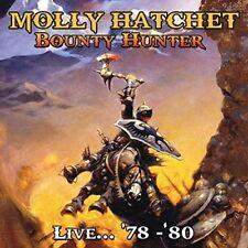 Molly Hatchet-Bounty Hunter live...' 78 -'80 4 CD NUOVO