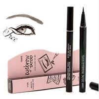 Women Brown 7 Days Makeup Eye Brow Eyebrow Pencil Waterproof Tattoo Pen Liner