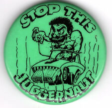STOP this JUGGERNAUT Crazy Car-Eating Car Pin!