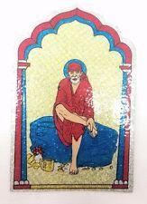 Colorati & Glitter SAI BABA religiosa Adesivo-Colla Adesivo Religioso Hindu