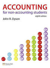 Accounting for Non-Accounting Students, Acceptable, Dyson, John R., Book