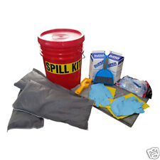 Cleanup Stuff Universal Bucket Spill Kit with Poly and Granular Absorbent