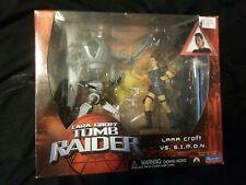 Lara Croft Tomb Raider Vs S.I.M.O.N. Playmates Action Figure Newin Original Box