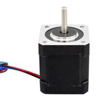 Metal Nema 17 Stepper Motor Bipolar 2A 59Ncm Body 4-Lead For 3D Printer 42 Mm