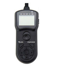 JJC TM-A Wire Multi-Function LCD Timer Remote For Canon TC-80N3 RS-80N3 7D 6D ++