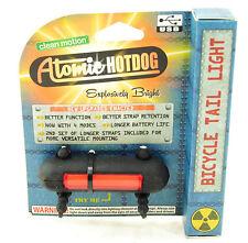 Clean Motion Atomic Hotdog Rear Light Rr USB Black/Red