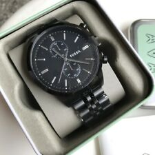 Fossil Watch * FS4787 Townsman Chrono Black Dial Stainless Steel PayPal