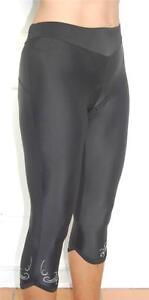 JIVANA Ladies Women Cycling Bike Knicks 3/4 padded pants shorts XS - 4XL (