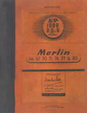 ROLLS-ROYCE MERLIN / A.P.1590 P.S & U / VOLUME 1 / 1944