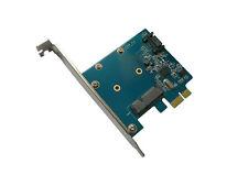 Carte Contrôleur PCIe mSATA et SATA deux ports - Interface SATA 3.0 / 6GB