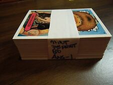 2003  03  Garbage Pail Kids GPK  ANS  Series 1 0ne Complete Set  80 cards Mint!