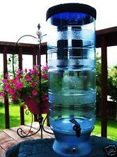 Berkey Light Gravity Water Purification w 2 Black Filters plus H C Bottle