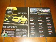 2006 JOHN FORCE FORD RACING POWER PACK MUSTANG  ***ORIGINAL AD***