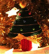 KNIT XMAS DECORATIONS -PATTERN for Christmas Tree!