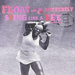 Serena Williams 2009 Gatorade G2 Muhammad Ali Float Butterfly Sting Bee Print Ad