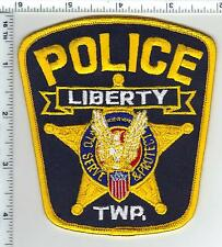 Liberty Police (Ohio) Shoulder Patch from the 1980's