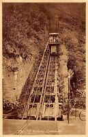 BR87775 the cliff railway lynmouth real photo  uk