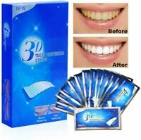 3D TEETH WHITENING STRIPS PROFESSIONAL WHITE 2 WEEKS SUPPLY TOOTH BLEACHING