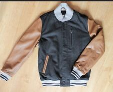The Nike NSW Leather Wool Destroyer Jacket