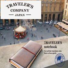 Traveler's company Notebook Regular Size Brown leather Midori [NEW] Midori