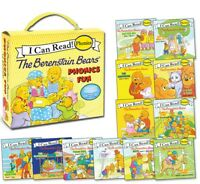 My First I Can Read The Berenstain Bears Phonics Fun Mike Berenstain (Box Set)