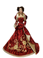 Vintage Holiday Ball Porcelain Barbie Doll 1997 Limited Edition