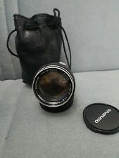 Nice Olympus OM-System F.Zuiko 85mm f2 Auto-T Lens. See images and description.