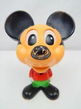 VTG Talking Mickey Mouse Pull Toy Walt Disney Mattel 1976 Hong Kong Working!