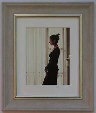Beautiful Dreamer da Jack Vettriano incorniciato & Grigio Stampa artistica montata