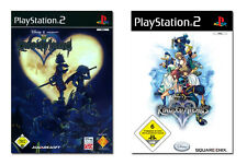 Disney - Kingdom Hearts 1 + 2 für Playstation 2 PS2 | NEUWARE | DEUTSCHE VERSION