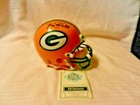 Bill Schroeder #84 Green Bay Packers Signed Mini Helmet