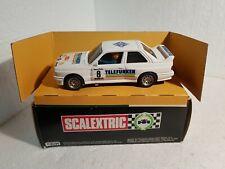 qq 4090 EXIN SCALEXTRIC BMW M3 23º RALLY CATALUNYA 1987 #8 PEP BASSAS TELEFUNKEN