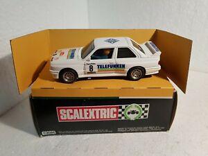 QQ 4090 Exin Scalextric BMW M3 23º Rally Catalunya 1987 #8 Pep Bassas