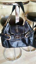 0a0974bc712992 Schöne große Jimmy Choo Tulita Shoulder Tasche Bag - schwarzes Leder
