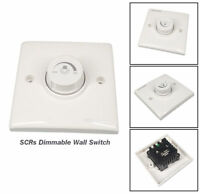 LED SCR Dimmer Light wall Switch Dimming Lamp BrightnessSilicon Controller 300W