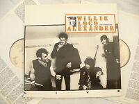 WILLIE LOCO ALEXANDER double lp LIVE  line ldlp 8013 German issue.. 33rpm / rock