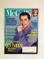 John Travolta Signed Autographed McCall's Magazine July 1999