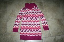 Girl's Gap Zig Zag Sweater Dress size M 8