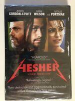 Hesher (DVD, 2011) Natalie Portman, Joseph Gordon-Levitt (NEW)