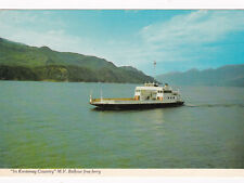 """""""In Kootenay Country"""", M.V. Balfour free ferry, British Columbia, Canada, 1976"""