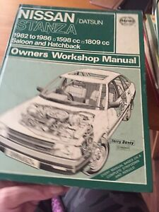 Haynes - Nissan / Datsun Stanza (1982 to 1986) Owners Workshop Manual Used