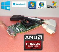 Dell OptiPlex 580 740 745 755 760 780 790 AMD HD Dual Monitor DVI Video Card